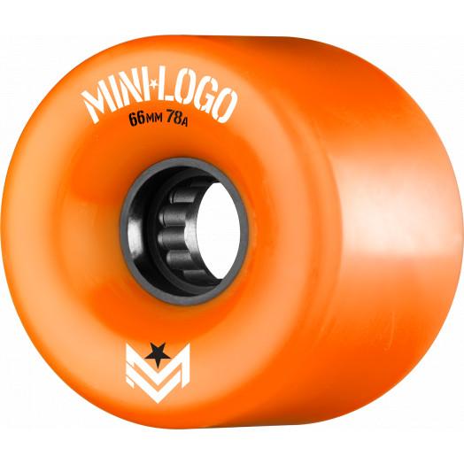 Mini Logo A.W.O.L. A-cut Orange 66mm 78A 4pk