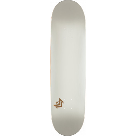 Mini Logo Chevron Skateboard Deck 170 Pearl White - 8.25 x 32.5