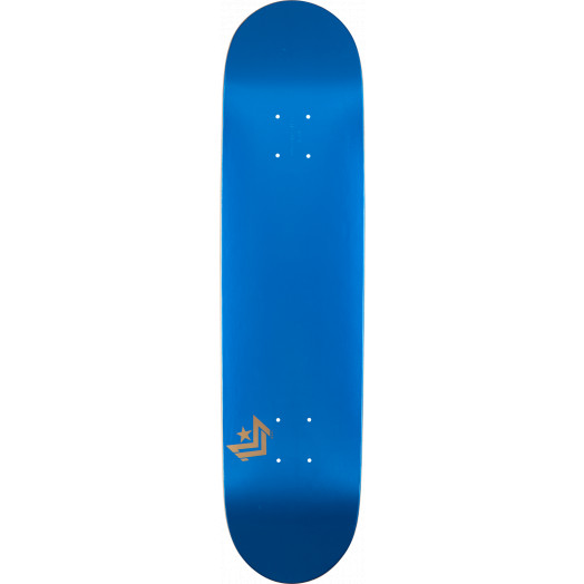 Mini Logo Chevron Skateboard Deck 248 Metallic Blue - 8.25 x 31.95