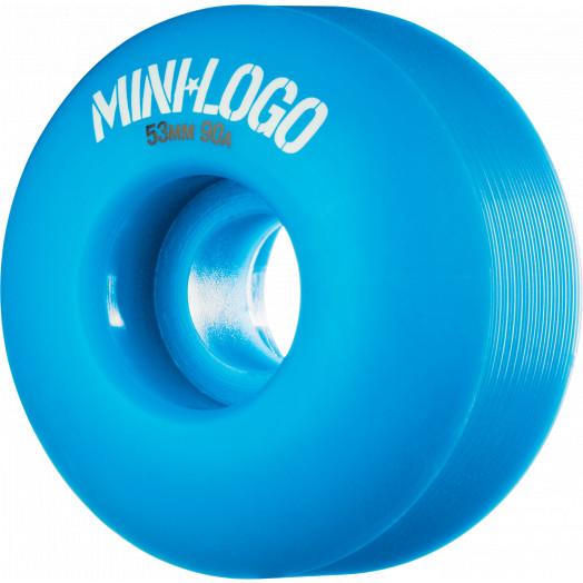 Mini Logo Wheel Hybrid C-cut 53mm 90A Blue 4pk